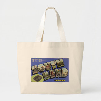 Greetings from South Bend Indiana Canvas Bag