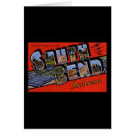 Greetings from South Bend Indiana Card