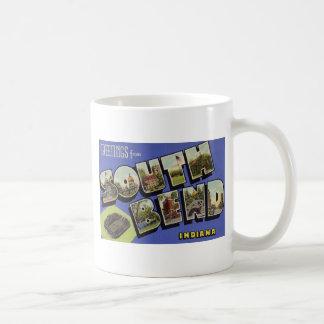 Greetings from South Bend Indiana Coffee Mug