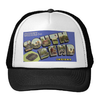Greetings from South Bend Indiana Hats