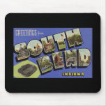 Greetings from South Bend Indiana Mousepads