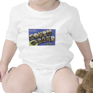 Greetings from South Bend Indiana Tee Shirt