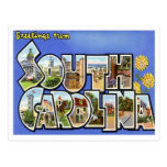 Greetings From South Carolina SC Post Cards