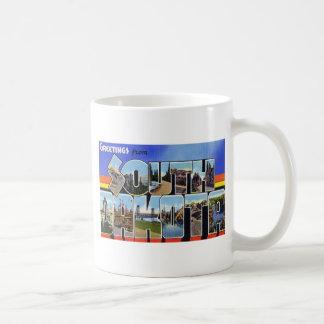 Greetings from South Dakota Coffee Mugs