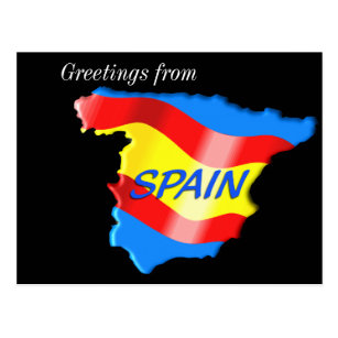 Greetings from spain postcards zazzle greetings from spain postcard m4hsunfo