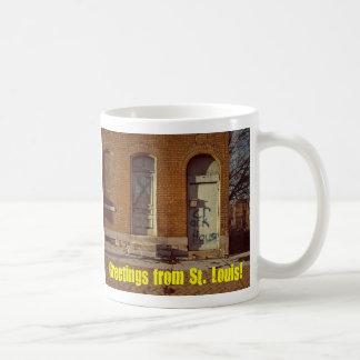 Greetings From St. Louis Coffee Mug