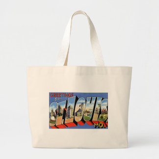 Greetings from St Louis Large Tote Bag