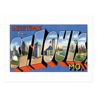 Greetings from St. Louis, MO! Postcard