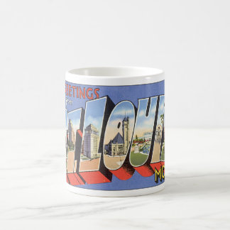 Greetings from St. Louis_Vintage Travel Poster Coffee Mug