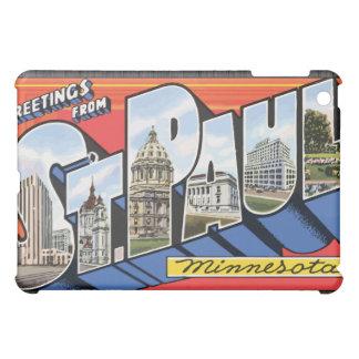 Greetings From St. Paul Minnesota, Vintage iPad Mini Cover