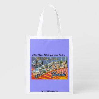 Greetings from St. Petersburg, Florida Grocery Bag