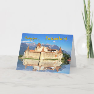 Greetings from switzerland gifts on zazzle greetings from switzerland card m4hsunfo