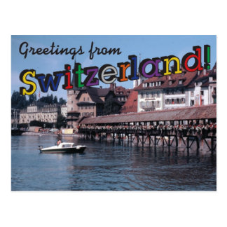 Greetings from Switzerland! Postcards