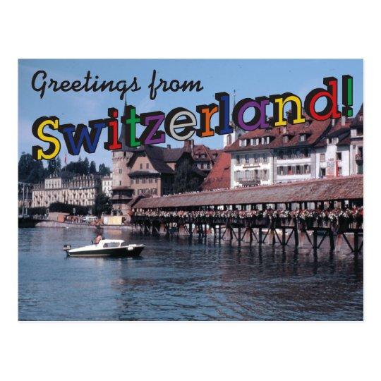 Greetings from switzerland postcard zazzle greetings from switzerland postcard m4hsunfo