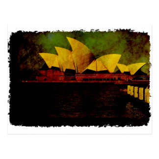 Greetings from Sydney Opera House Postcard