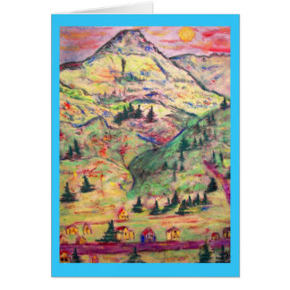 Greetings From Telluride Greeting Card