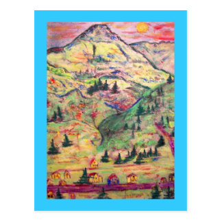 Greetings From Telluride Postcard