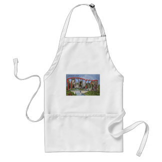 Greetings From Tennessee Adult Apron