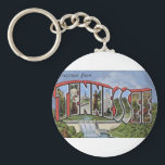 """Greetings From Tennessee Keychain<br><div class=""""desc"""">Greetings From Tennessee</div>"""