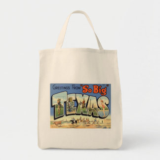 Greetings From Texas Tote Bag