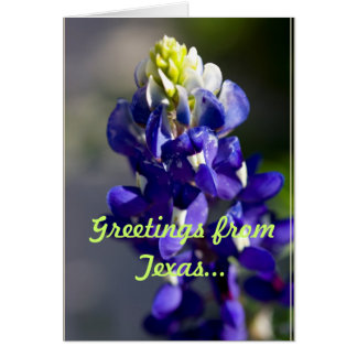 Greetings from Texas... Card