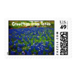 Greetings from Texas Postage Stamp