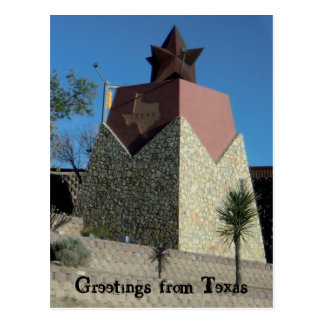 Greetings from Texas Postcard Post Cards