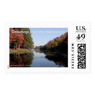 Greetings From the Adirondacks Postage #001