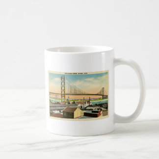 Greetings from the Ambassador Bridge Detroit Coffee Mug