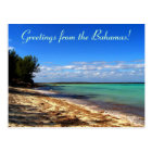 Greetings from the Bahamas! Postcard