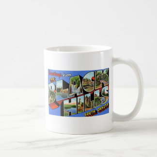 Greetings from the Black Hills South Dakota Coffee Mug