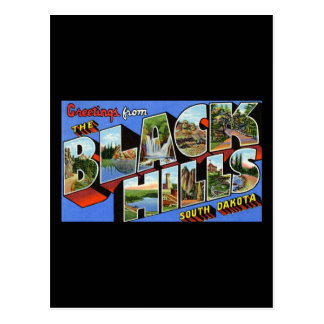 Greetings from the Black Hills South Dakota Post Cards