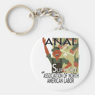 Greetings from the Common Worker! Keychain