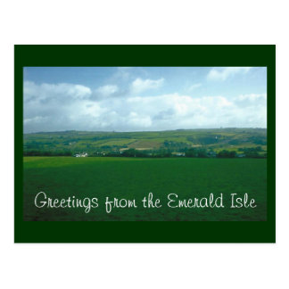 Greetings from the Emerald Isle Postcard
