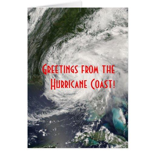 Greetings from the Hurricane Coast! Card
