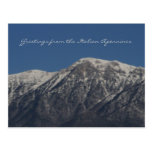 Greetings from the Italian Apennines Postcard
