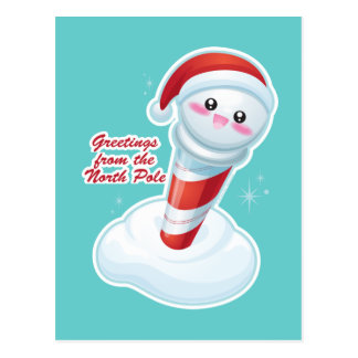 Greetings from the North Pole Postcard