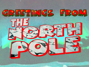 North pole greetings postcards zazzle greetings from the north pole postcard m4hsunfo