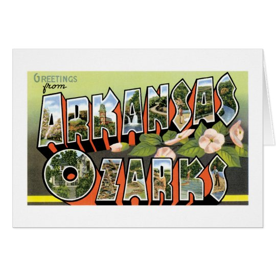 Greetings from the Ozarks! Card