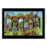 Greetings from the Ozarks Greeting Card