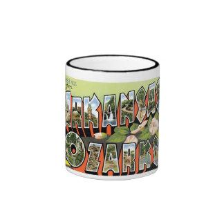 Greetings from the Ozarks! Ringer Coffee Mug