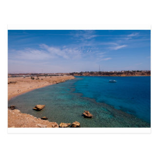 Greetings from the Red Sea, Sharm el Sheikh, Egypt Postcard