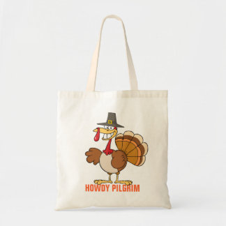Greetings from the Thanksgiving Day Turkey Tote Bag