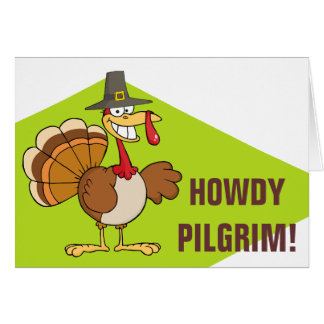 Greetings from the Thanksgiving Day Turkey Card
