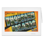 Greetings from Thousand Islands, New York Card