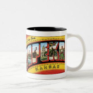 Greetings from Topeka Coffee Mug