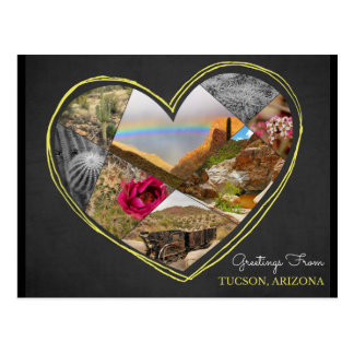 Greetings from Tucson, Arizona ♥ Postcard