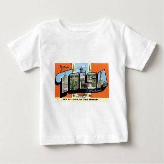 Greetings from Tulsa, Oklahoma! Baby T-Shirt