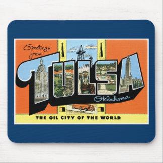 Greetings from Tulsa, Oklahoma! Mouse Pad