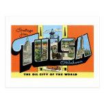 Greetings from Tulsa, Oklahoma! Postcards